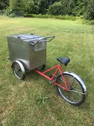 Bicycle Ice Cream Cart