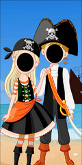 Photo Front (Pirate Theme)