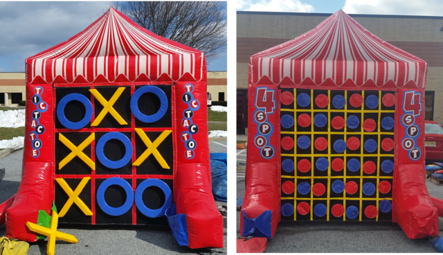 Tic Tac Toe / 4 Spot Inflatable Game