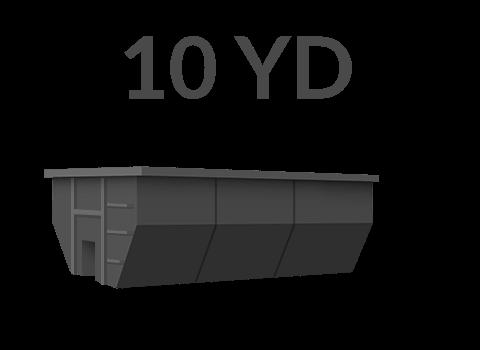 10 yard dumpster