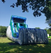 20' Silver Splash Water Slide