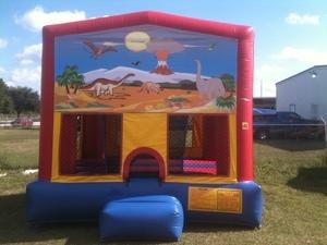 13X13 Dinosaur Fun Bounce House