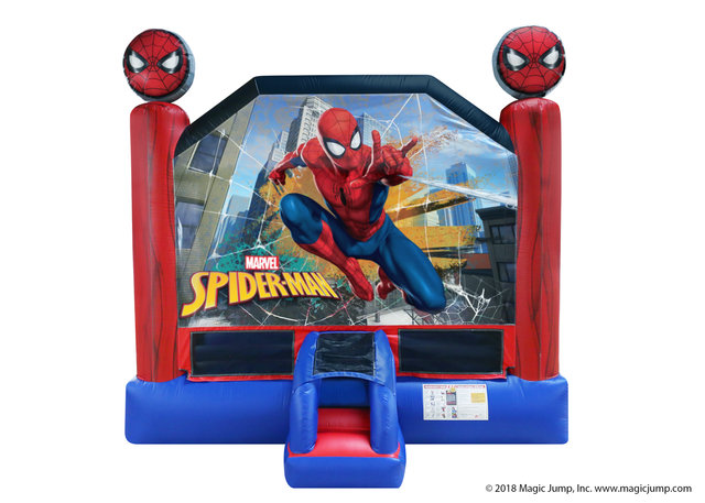 15 x 15 Spiderman Bounce house rental