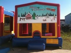 13x13 Christmas Bounce House