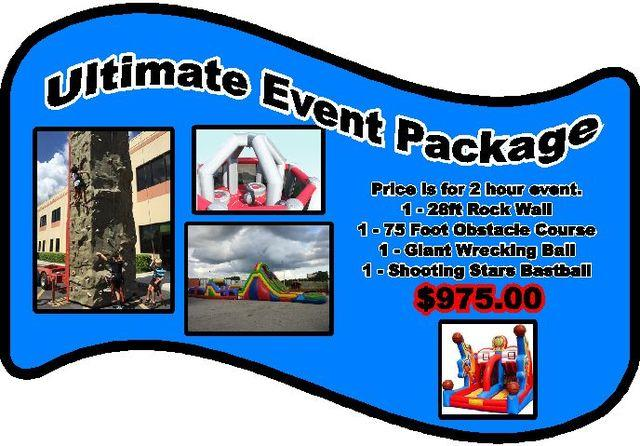 (7) Ultimate Event Package