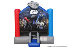 13 x 13 Star Wars Bounce House