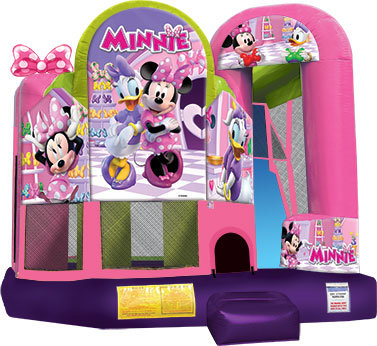 (02) Minnie Mouse Clubhouse Bounce And Slide Dry