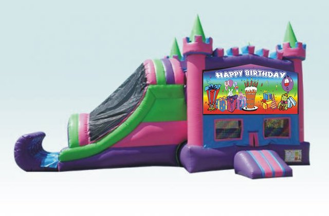 Party Palace Rainbow Birthday