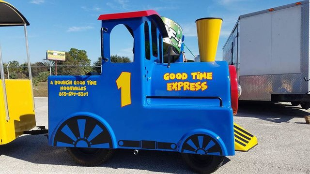 Good Time Express Trackless Train