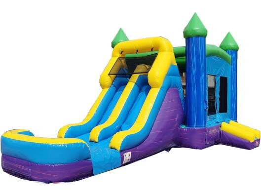 Castle Combo (Blue & Purple Dual Side Slide)