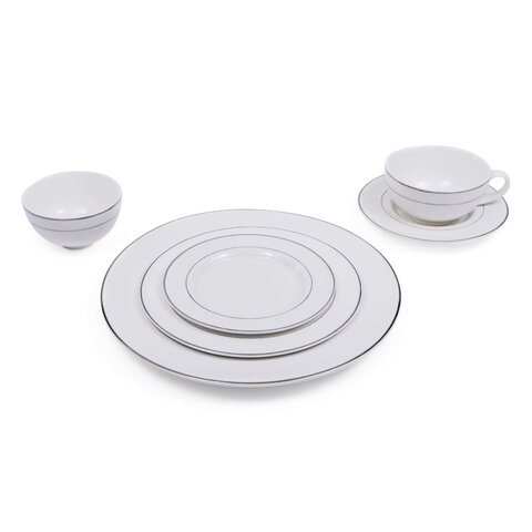 Legends Platinum Dinnerware