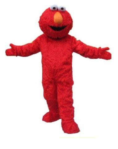 Costume Rental - Red Furry Puppet
