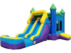 Castle Combo (Blue & Purple Dual Water Slide)