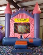 Pink Castle Bouncy House  (6-8)
