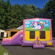 Castle Combo (Pink Unicorn Side Slide)