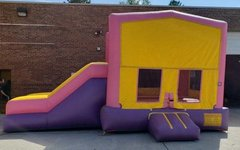Castle Combo (Pink & Yellow Side Slide)