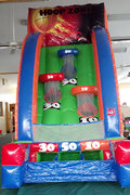 Hoop Zone Basketball Challenge Inflatable