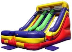 18ft Dual Lane Slide Big (Dry)