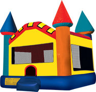 Classic Castle Bouncy House Lrg. (8-10)