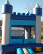 Blue Castle Bouncy House For Sale