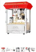 Popcorn Machine 8oz (incl 25 servings)