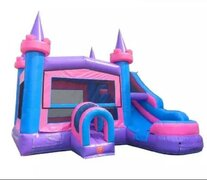 Bounce and Waterslide Combo Pink & Purple Dream