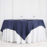 Linen - 90 square - navy