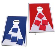 Corn Hole / Portable Bean Bag Toss (Metal)