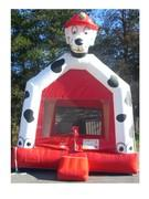 Dalmatian Fire Dog Jump House (6)