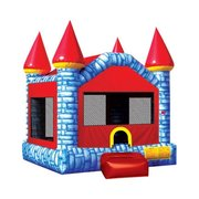 Blue/Red Castle Bouncy House (6-8)