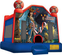 Pirates of the Caribbean Adventure Bounce House (6-8)
