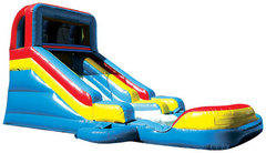 14 Foot Water Slide With Pool