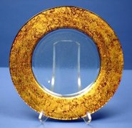 Splendor Gold Glass Charger