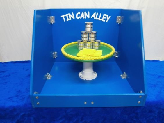 Carnival Game - Tin Can Alley