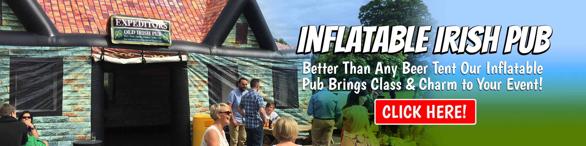 Inflatable Pub Rental