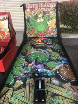 Frog Prince Fling Carnival Game