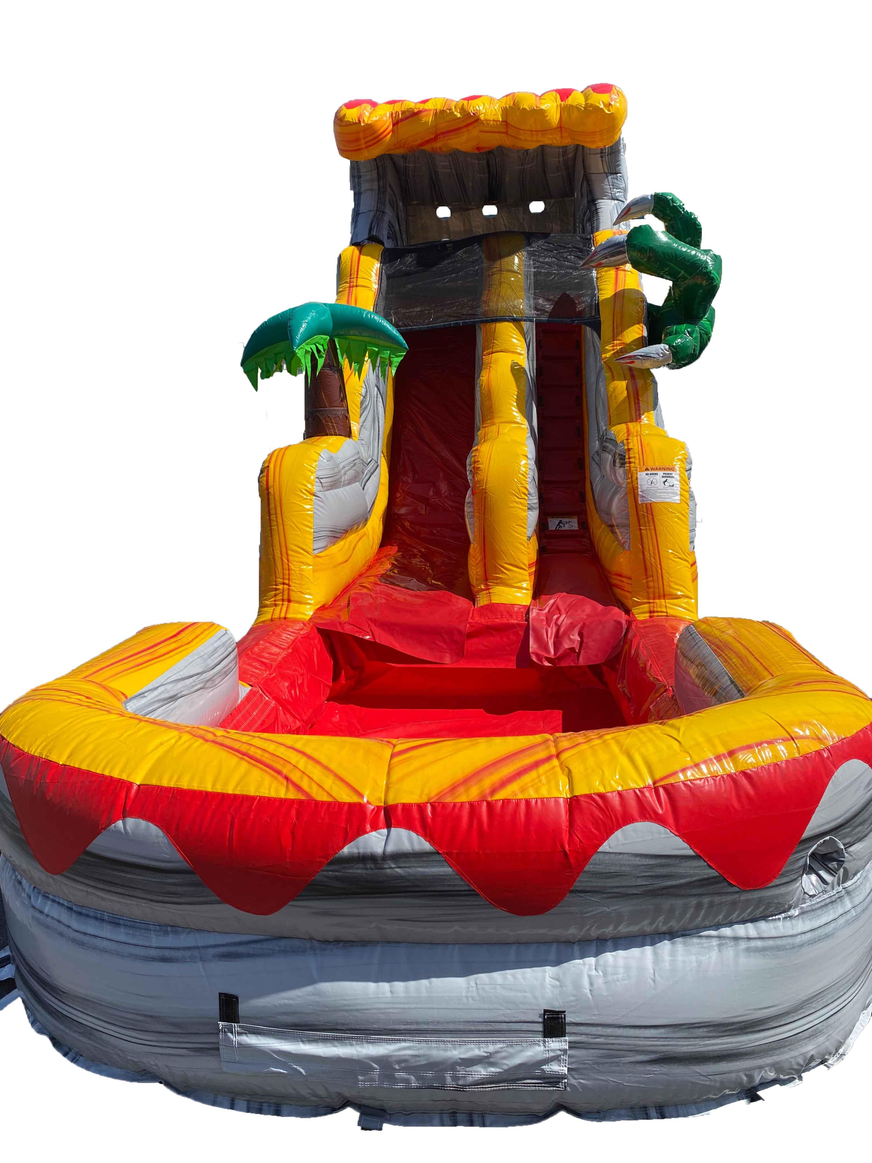 T-Rex Water Slide Rental