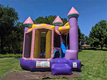 Bounce House with Slide Petaluma Rentals
