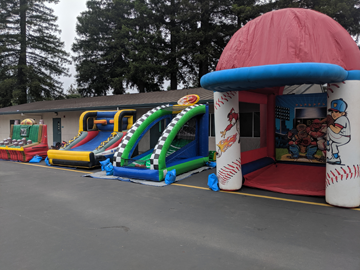 Novato Inflatable Game Rentals