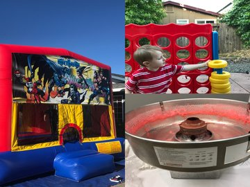 Bounce House Party Package Rental Petaluma