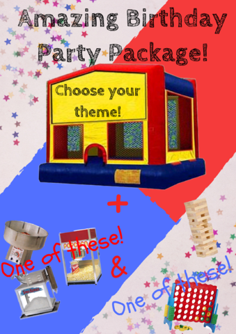 Amazing Birthday Party Package