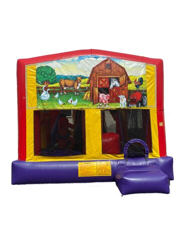 Animal Farm 5 n 1 Bounce House