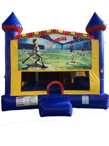 Baseball 4 n 1 Combo Bounce House