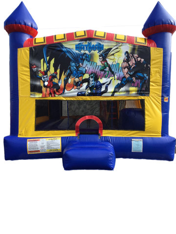 Batman 4 n 1 Combo Bounce House