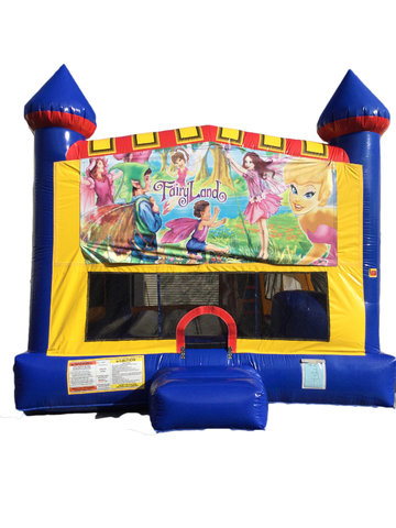 Fairyland 4 n 1 Combo Bounce House