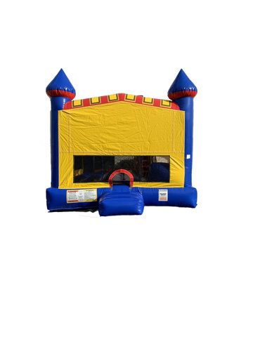 Blue Castle 4n1 Mod Combo Bounce House