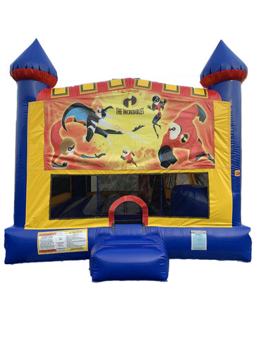 Incredibles 4 n 1 Combo Bounce House