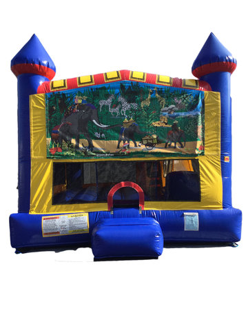 Jungle 4 n 1 Combo Bounce House