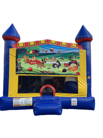 Kitty, Puppies 4 n 1 Combo Bounce House