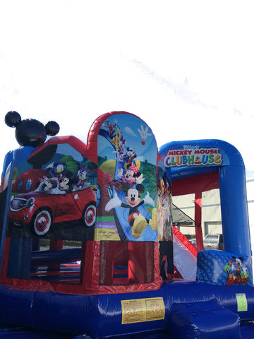 Mickey and Friends Premium 5 n 1 Combo Bounce House